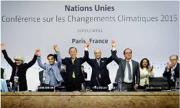 UNFCCC COP 21 Climate Change Conference 2015, Paris, France