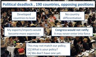 Vote to unlock the deadlock in negotiations on international shipping and climate change